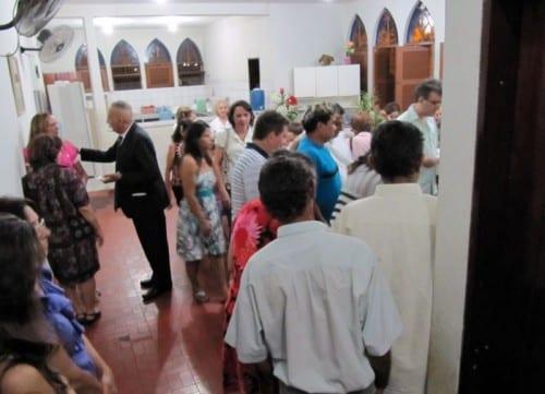 Missa dos Pais no Lar de Misericórdia
