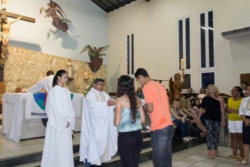 Missa Envio do Encontro de Jovens