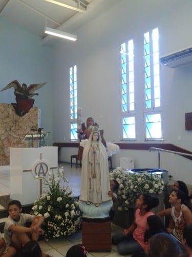 MISSA COM AS CRIANÇAS 31 / 05 / 2015