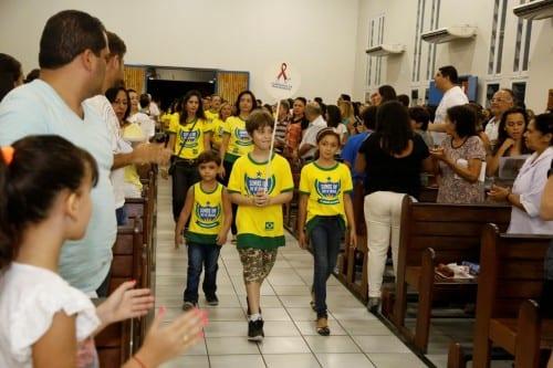 Missa de Envio da Caminhada da Fraternidade 2014