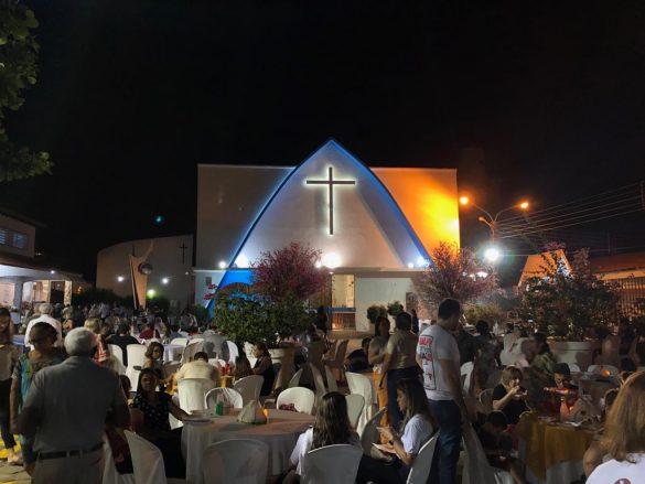 Registros da 2ª noite da Festa da Padroeira